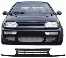 CALANDRE SANS SIGLE BLACK VW GOLF 3 III BERLINE 1.9 D 10/1991-09/1997