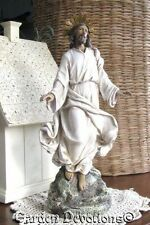 "New! 12"" RISEN JESUS CHRIST EASTER STATUE Beautiful Detail!"