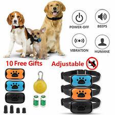 12X Anti Bark Collar Stop Dog Barking Sound & Vibration Adjustable S/M/L 3 Shell