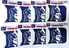 """Lot of 8 Officially Licensed 5 1/2"""" x 4 1/4"""" Ultra Decals DUKE Blue Devils"""