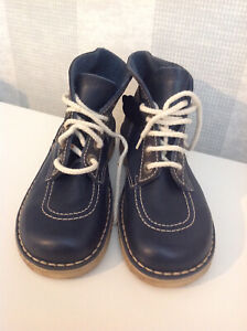Vintage Kickers Boots Blue Size Uk 5 (B1) Very Rare !