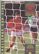 Orig.PRG   ENGLAND League Cup  88/89  FINALE  NOTTINGHAM FOREST - LUTON TOWN  !!