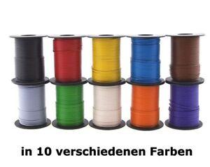 Beli Beco: 25 m / 50 m Modellbahnkabel (Kupferlitze), 0,25 mm² - freie Farbwahl