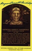 Ray Dandridge Autographed Hall of Fame Card With Scarce FULL Signature