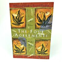 THE FOUR AGREEMENTS Practical Guide to Personal Freedom Book by Don Miguel Ruiz