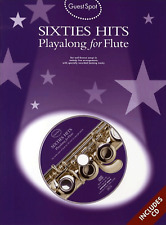 THE SIXTIES Flute Sheet Music Book & Playalong CD Songbook 60s 1960s Shop Soiled