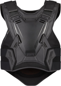 Icon Field Armor 3 Mens Black Motorcycle Riding Street Racing Protection Vest