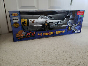 The Ultimate Soldier XD P-47 Thunderbolt Bubbletop 1/18 MAJ. EAGLESTON 353rd FS