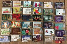 Starbucks 2016 Complete 36 Card Christmas Holiday Gift Set Lot 53/51/48/45/54/10