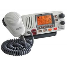 NEW Cobra Electronics Cobra Mr F77w Fixed Mount Class D Vhf Radio - 25w - White