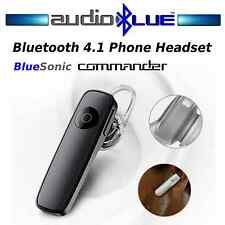 Bluetooth 4.1 Phone Headset Connect phone/devices -Dual mics