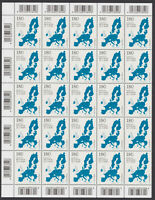 AUSTRIA 2020 Brexit stamp SOLD OUT QUICKLY, ½ sheet 25 fine, fresh, MNH *SCARCE*