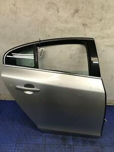 2011 - 2018 VOLVO S60 RIGHT PASSENGER REAR DOOR SHELL SILVER SCRATCHES SWB