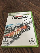 Burnout Paradise Xbox 360 Cib Game XG3