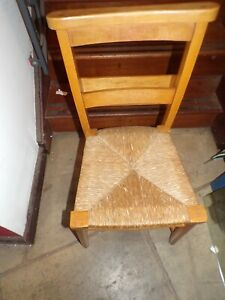 Vintage Church Chapel Chair with Bible holder / read seat   MANCAVE/CAFE