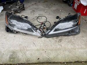 vland headlights lexus is250 2006 - 2012 Drivers Side, Passenger Side Damaged