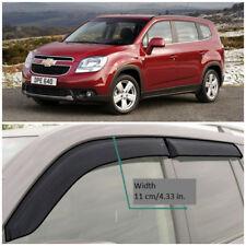 CE31910 Window Visors Guard Vent Wide Deflectors For Chevrolet Orlando 2010-2015