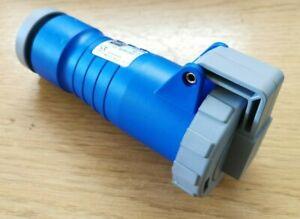 K9124BLU Mk (Electric) Connector 250V 16A 2P+E Ip67 Blue