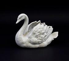 Figurines En Porcelaine Bol Cygne blanc 11x15 cm Wagner & Apel 9942763