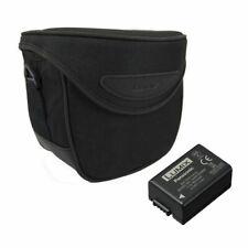 Panasonic DMWFZ82KIT Black Case and Battery Kit for FZ82