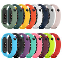 Replacement Band Wrist Strap Bracelet With Non-slip Frame- for Xiaomi Mi Band 5