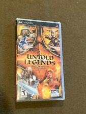 Sony PlayStation PSP Video Game Untold Legends Brotherhood of the Blade Rated T