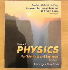 Physics For Scientists and Engineers Vol 1 Student Solutions Manual Study Guide