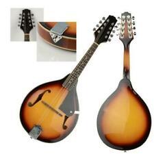 New A Style Mandolin Sunburst 8 String Basswood with Adjustable Bridges