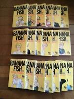 BANANA FISH by Akimi Yoshida VOL.1-19 Manga Comic Complete Set