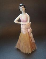 Vintage German Half Doll Vanity Dresser Brush Broom