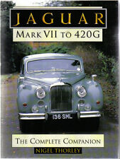 Jaguar Mark VII to 420G Complete Companion inc. Mk VIII, IX, X & Daimler DS420 +