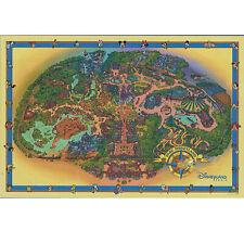 Disneyland Paris - Large Theme Park Fun Map - + Map of the 2 parks