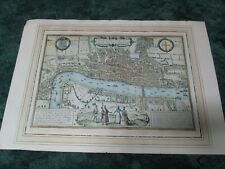 "Vintage Map of London Metropolis Print Poster 26"" by 18"""