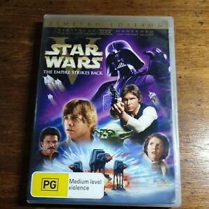 Star Wars V The Empire Strikes Back LIMITED EDITION DVD R4 LIKE NEW FREE POST