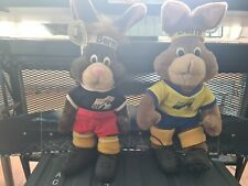 Uefa Euro Ek voetbal 1988 with tags and 1992 Mascotte Mascot Maskottchen