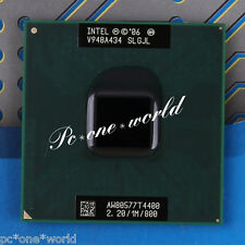 100% OK SLGJL Intel Pentium T4400 2.2 GHz Dual-Core Laptop Processor CPU