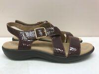 Womens SAS Laguna Weave Henna Medium Sandal