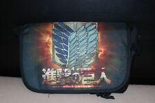 Attack on Titan! Anime messenger bag School bag!UK Seller! Fast Delivery!