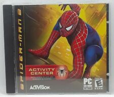 Spider-Man 2 Activity Center PC CD-Rom 2004 (A-13) Puzzles Games Activision