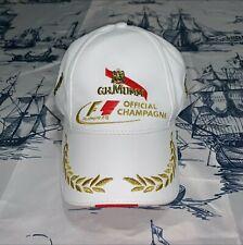 More details for rare official licenced formula 1 f1 champagne mumm baseball cap (lewis hamilton)