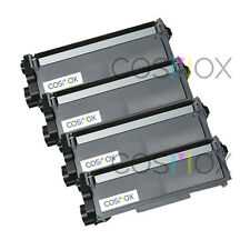 4x Compatible TN660 High Yield Black Laser Toner for Brother MFC-L2740DW TN630