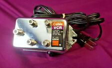 Gemini DA 1400 Cable VCR 4 Output VHF/FM 10 Db Amplifier 120V