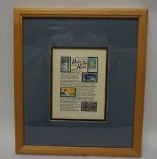 Jack Rabbit Stamp Art Signed Lithograph - Babe Ruth