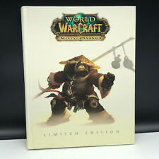 WORLD OF WARCRAFT video game strategy guide limited edition Mists Pandaria Panda