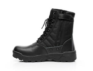 Mens Casual Army Security Ankle Boots Tactical Combat Military Lace Up Shoes