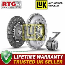 LUK 3Pc Clutch Kit w/ Concentric Slave Cylinder CSC Repset Pro 625307433