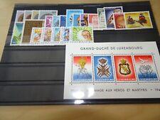 Luxemburg Jahrgang 1985 postfrisch komplett (11861)