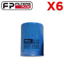 6 x WZ502 Wesfil Oil Filter - Nissan Patrol, Terrano - Z502, MZ502, 1520840L02