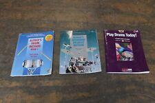 Beginning Drum Method Books 3pk