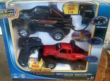 New 2 TRUCK RADIO REMOTE CONTROL SET New Bright R/C 2 frequency set S 10 Ranger